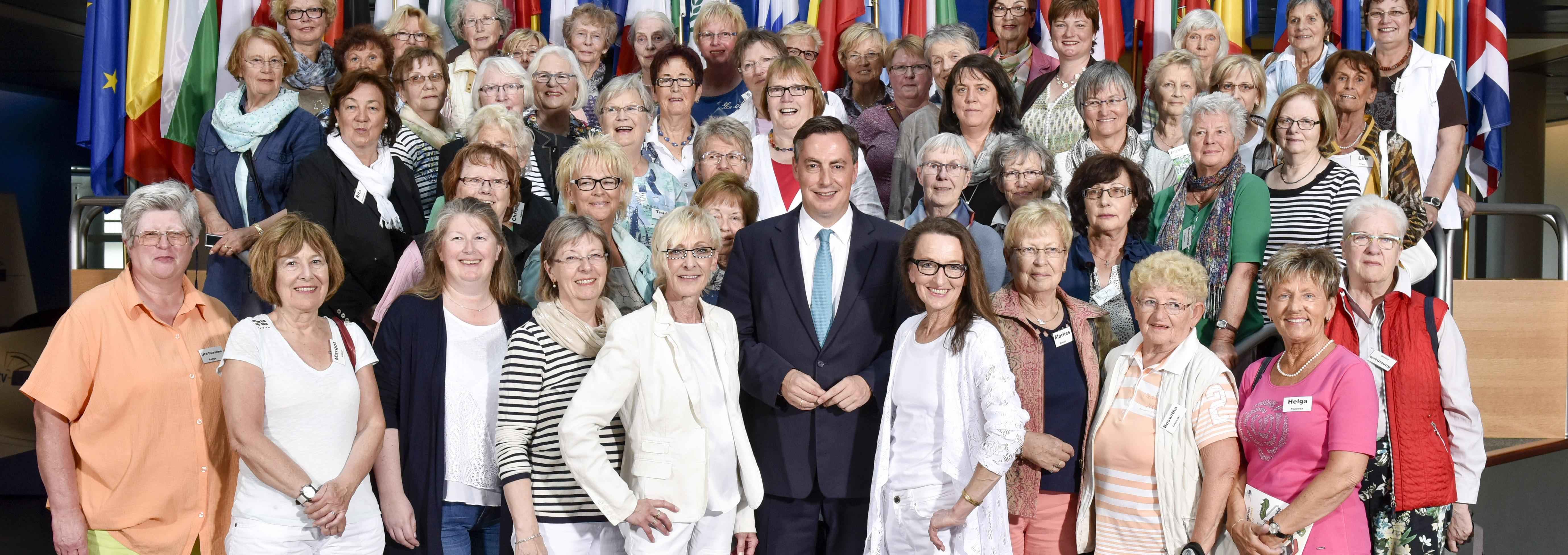 Besuchergruppe der Frauen Union Cuxhaven