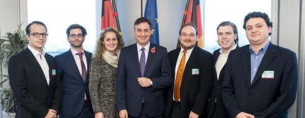 RCDS Oldenburg besucht David McAllister in Brüssel