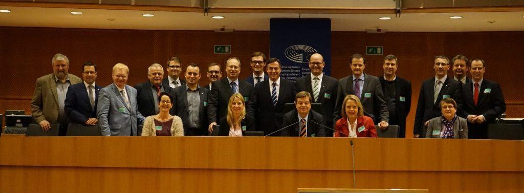 Besuch des Bezirksvorstand der CDU Elbe-Weser im Europäischen Parlament in Brüssel