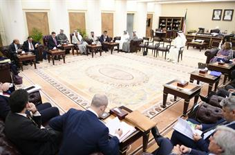 KUNA: Al-Ghanim, European MPs discuss promoting bilateral action