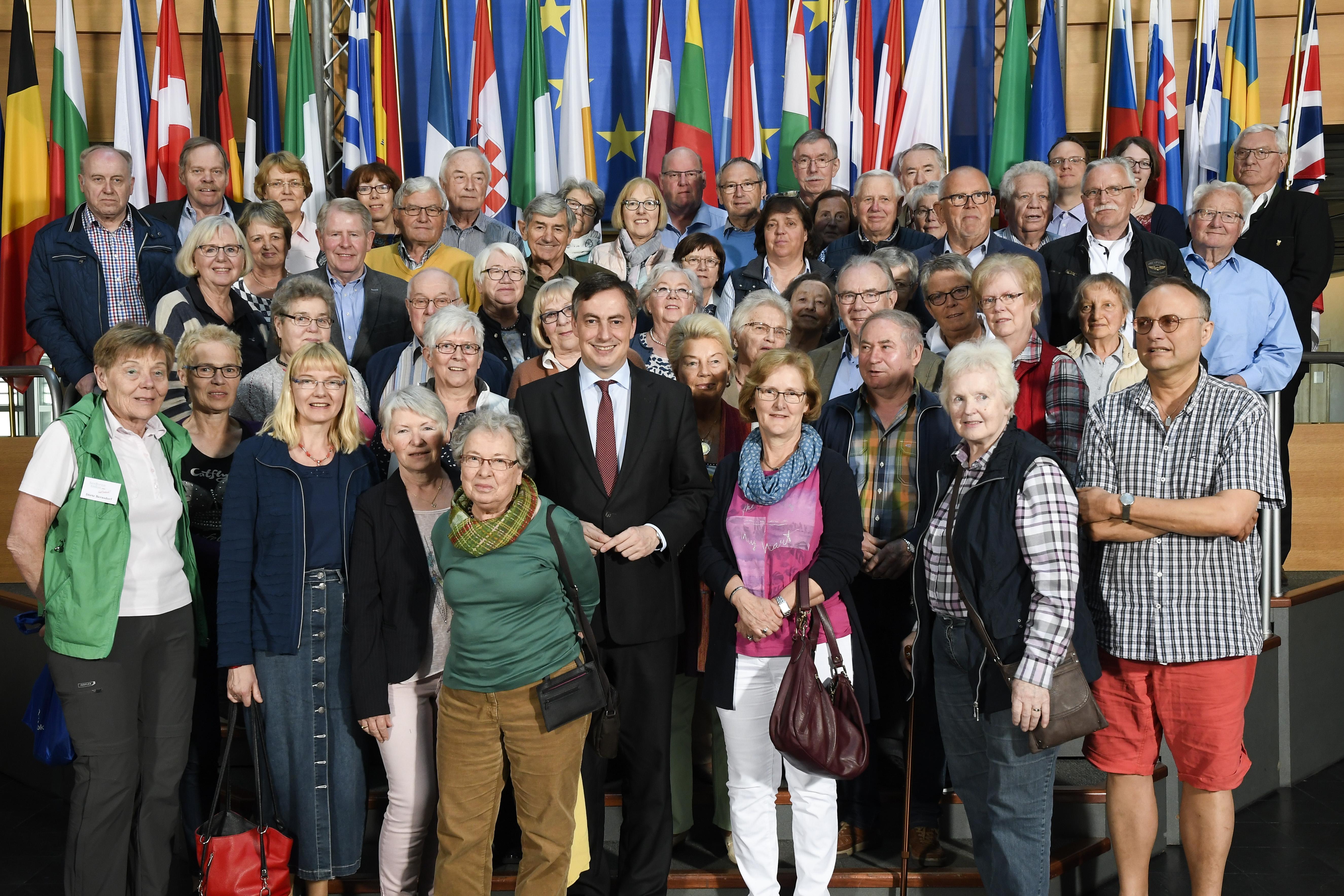 Presseinformation, 17.04.2018: Besonderes Erlebnis für Gruppe der Senioren-Union Osterholz in Straßburg