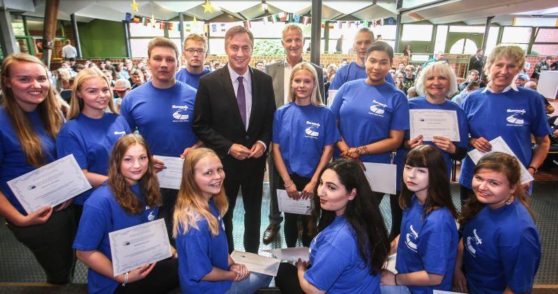 Weser Kurier: BBS-Schüler erhalten EU-Zertifikate nach Besuch in Straßburg
