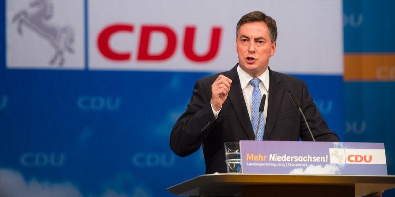 David McAllister zu Gast beim Empfang des CDU-Kreisverband Holzminden am 09. November