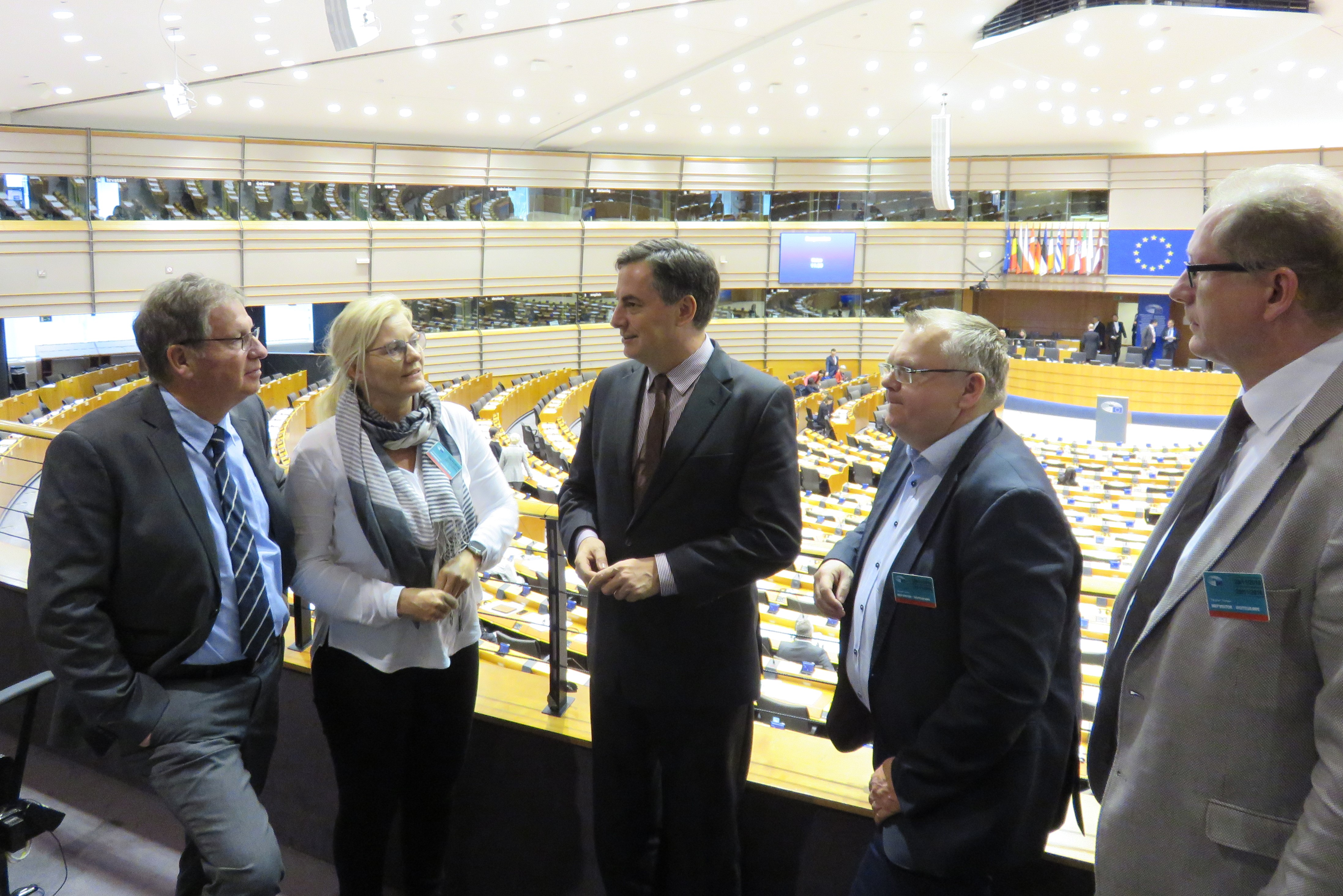 Presseinformation, 30.11.2018: Bremerhavener CDU-Delegation besucht Brüssel