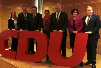 McAllister führt Niedersachsen-CDU in die Europawahl
